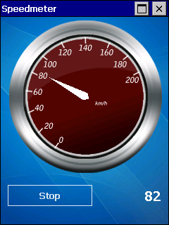 Gauge screen