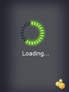 WaitCursor screen