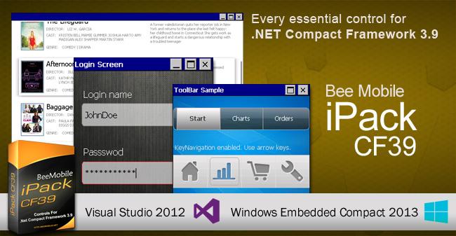 Compact Framework 3.9 Controls