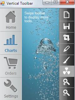 ToolBar screen